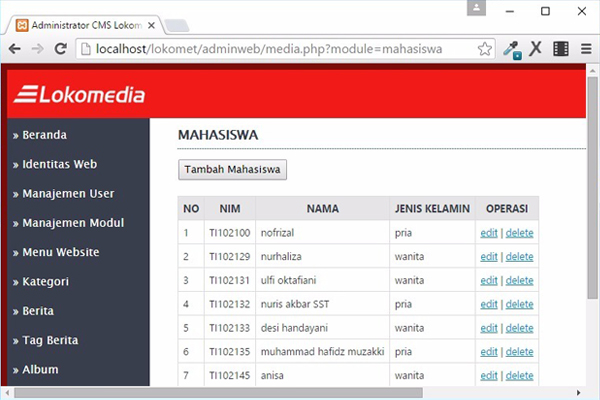 Video Tutorial Membuat Module Pada CMS Lokomedia