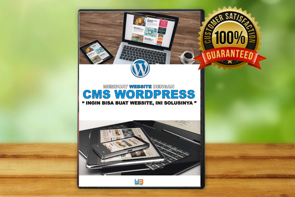 Video Tutorial Membagun Website Propesional Dengan CMS WordPress
